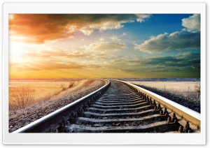 Railway HD Wide Wallpaper for 4K UHD Widescreen desktop & smartphone