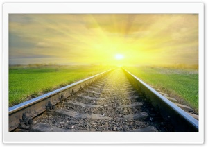 Railway HD Wide Wallpaper for Widescreen