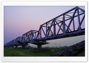 Railway Bridge HD Wide Wallpaper for Widescreen