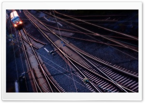 Railway Lines HD Wide Wallpaper for 4K UHD Widescreen desktop & smartphone