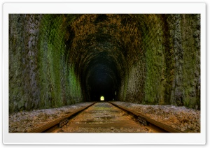 Railway Tunnel HD Wide Wallpaper for Widescreen