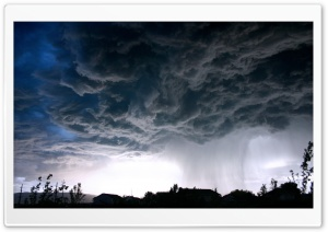 Rain Cloud HD Wide Wallpaper for Widescreen