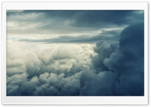 Rain Clouds Sky Ultra HD Wallpaper for 4K UHD Widescreen desktop, tablet & smartphone