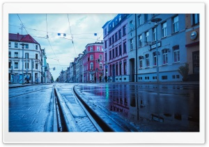 Rain in Germany II HD Wide Wallpaper for 4K UHD Widescreen desktop & smartphone