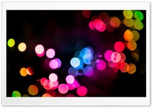 Rainbokeh HD Wide Wallpaper for Widescreen