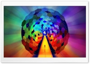 Rainbow Art HD Wide Wallpaper for Widescreen