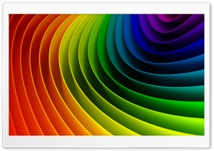 Rainbow Art 3D HD Wide Wallpaper for Widescreen