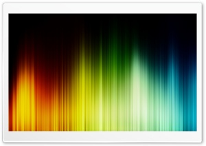 Rainbow Aurora HD Wide Wallpaper for Widescreen