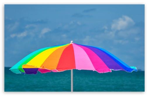 Rainbow Beach Umbrella UltraHD Wallpaper for Wide 16:10 5:3 Widescreen WHXGA WQXGA WUXGA WXGA WGA ; UltraWide 21:9 24:10 ; 8K UHD TV 16:9 Ultra High Definition 2160p 1440p 1080p 900p 720p ; UHD 16:9 2160p 1440p 1080p 900p 720p ; Standard 4:3 3:2 Fullscreen UXGA XGA SVGA DVGA HVGA HQVGA ( Apple PowerBook G4 iPhone 4 3G 3GS iPod Touch ) ; iPad 1/2/Mini ; Mobile 4:3 5:3 3:2 16:9 - UXGA XGA SVGA WGA DVGA HVGA HQVGA ( Apple PowerBook G4 iPhone 4 3G 3GS iPod Touch ) 2160p 1440p 1080p 900p 720p ;
