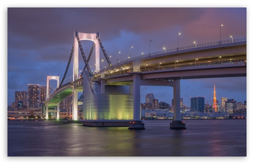 Rainbow Bridge, Tokyo ❤ 4K UHD Wallpaper for Wide 16:10 5:3 Widescreen WHXGA WQXGA WUXGA WXGA WGA ; 4K UHD 16:9 Ultra High Definition 2160p 1440p 1080p 900p 720p ; UHD 16:9 2160p 1440p 1080p 900p 720p ; Standard 4:3 5:4 3:2 Fullscreen UXGA XGA SVGA QSXGA SXGA DVGA HVGA HQVGA ( Apple PowerBook G4 iPhone 4 3G 3GS iPod Touch ) ; Smartphone 3:2 5:3 DVGA HVGA HQVGA ( Apple PowerBook G4 iPhone 4 3G 3GS iPod Touch ) WGA ; Tablet 1:1 ; iPad 1/2/Mini ; Mobile 4:3 5:3 3:2 16:9 5:4 - UXGA XGA SVGA WGA DVGA HVGA HQVGA ( Apple PowerBook G4 iPhone 4 3G 3GS iPod Touch ) 2160p 1440p 1080p 900p 720p QSXGA SXGA ;