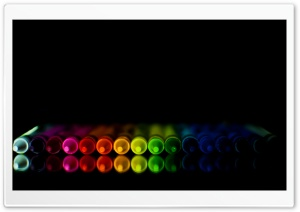 Rainbow Crayons HD Wide Wallpaper for Widescreen