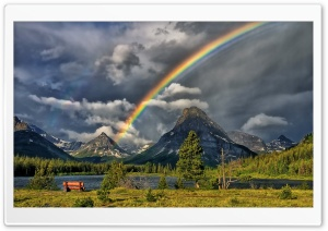 Rainbow In The Sky HD Wide Wallpaper for Widescreen
