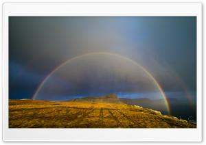 Rainbow Landscape Ultra HD Wallpaper for 4K UHD Widescreen desktop, tablet & smartphone