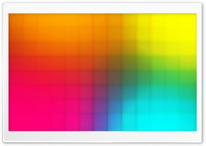 Rainbow Pixel Art HD Wide Wallpaper for Widescreen