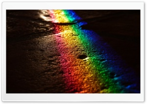 Rainbow Reflection HD Wide Wallpaper for Widescreen