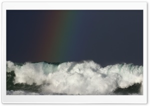 Rainbow Sea Ultra HD Wallpaper for 4K UHD Widescreen desktop, tablet & smartphone