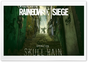 Rainbow Six Siege Operation Skull Rain HD Wide Wallpaper for Widescreen