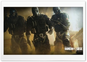 Rainbow Six Siege Terror HD Wide Wallpaper for Widescreen