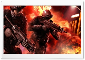 Rainbow Six Vegas HD Wide Wallpaper for Widescreen