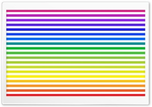 Rainbow Stripes HD Wide Wallpaper for Widescreen