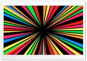 Rainbow Vortex HD Wide Wallpaper for Widescreen