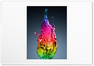 Rainbow Water HD Wide Wallpaper for Widescreen
