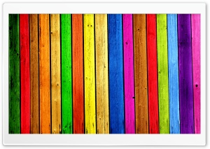 Rainbow Wood Background HD Wide Wallpaper for Widescreen