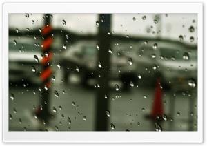 Raindrops On Glass Ultra HD Wallpaper for 4K UHD Widescreen desktop, tablet & smartphone