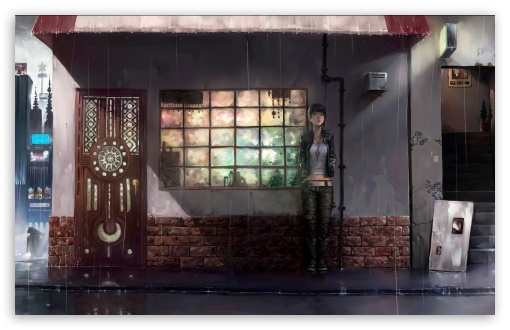 Raining Day Anime HD wallpaper for Wide 16:10 5:3 Widescreen WHXGA WQXGA WUXGA WXGA WGA ; HD 16:9 High Definition WQHD QWXGA 1080p 900p 720p QHD nHD ; Standard 4:3 5:4 3:2 Fullscreen UXGA XGA SVGA QSXGA SXGA DVGA HVGA HQVGA devices ( Apple PowerBook G4 iPhone 4 3G 3GS iPod Touch ) ; Tablet 1:1 ; iPad 1/2/Mini ; Mobile 4:3 5:3 3:2 16:9 5:4 - UXGA XGA SVGA WGA DVGA HVGA HQVGA devices ( Apple PowerBook G4 iPhone 4 3G 3GS iPod Touch ) WQHD QWXGA 1080p 900p 720p QHD nHD QSXGA SXGA ;