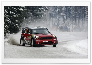 Rally Mini Cooper HD Wide Wallpaper for Widescreen
