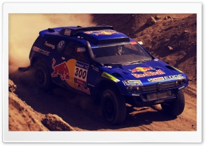 Rally Paris Dakar Car HD Wide Wallpaper for Widescreen