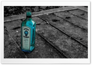 Random Bottle on the Street HD Wide Wallpaper for 4K UHD Widescreen desktop & smartphone