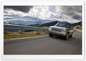 Range Rover Car HD Wide Wallpaper for Widescreen
