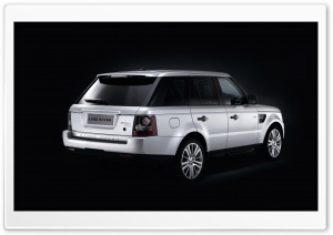 Range Rover Car 34 HD Wide Wallpaper for Widescreen