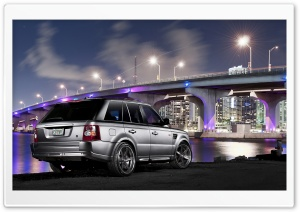 Range Rover City HD Wide Wallpaper for Widescreen