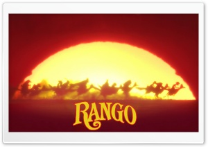 Rango HD Wide Wallpaper for Widescreen