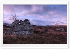 Rannoch Moor, Scotland HD Wide Wallpaper for 4K UHD Widescreen desktop & smartphone