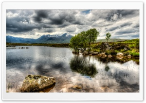 Rannoch Moor Wild Landscape HD Wide Wallpaper for 4K UHD Widescreen desktop & smartphone