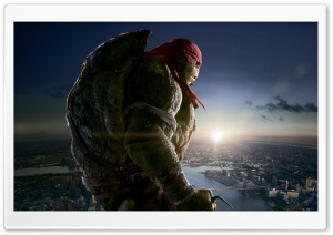 Raphael - Teenage Mutant Ninja Turtles 2014 Movie HD Wide Wallpaper for Widescreen
