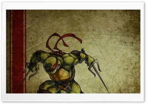 Raphael Teenage Mutant Ninja Turtles HD Wide Wallpaper for Widescreen