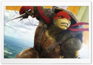 Raphael TMNT Out Of The Shadows HD Wide Wallpaper for Widescreen