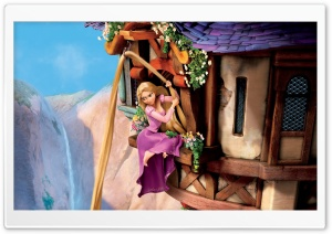 Rapunzel   Tangled HD Wide Wallpaper for 4K UHD Widescreen desktop & smartphone