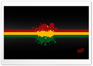 Rasta Black HD Wide Wallpaper for Widescreen