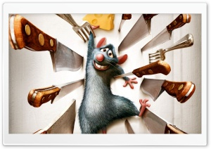 Ratatouille HD Wide Wallpaper for Widescreen