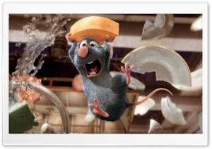 Ratatouille Movie Ultra HD Wallpaper for 4K UHD Widescreen desktop, tablet & smartphone