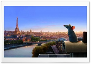 Ratatouille Remy HD Wide Wallpaper for Widescreen