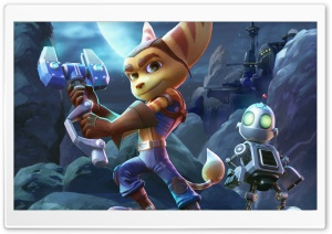 Ratchet and Clank 2015 HD Wide Wallpaper for 4K UHD Widescreen desktop & smartphone