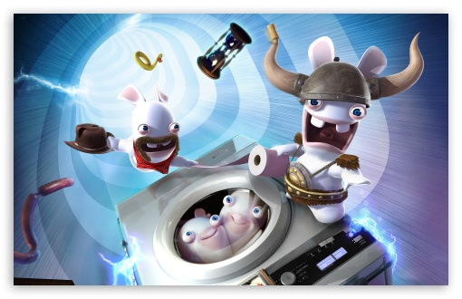 Raving Rabbids Travel In Time HD wallpaper for Wide 16:10 5:3 Widescreen WHXGA WQXGA WUXGA WXGA WGA ; HD 16:9 High Definition WQHD QWXGA 1080p 900p 720p QHD nHD ; Standard 4:3 5:4 3:2 Fullscreen UXGA XGA SVGA QSXGA SXGA DVGA HVGA HQVGA devices ( Apple PowerBook G4 iPhone 4 3G 3GS iPod Touch ) ; iPad 1/2/Mini ; Mobile 4:3 5:3 3:2 16:9 5:4 - UXGA XGA SVGA WGA DVGA HVGA HQVGA devices ( Apple PowerBook G4 iPhone 4 3G 3GS iPod Touch ) WQHD QWXGA 1080p 900p 720p QHD nHD QSXGA SXGA ;