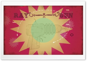 Ray Gun HD Wide Wallpaper for Widescreen