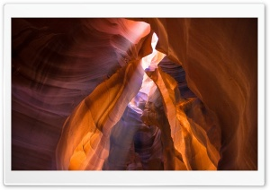 Ray Of Light, Antelope Canyon, Arizona HD Wide Wallpaper for 4K UHD Widescreen desktop & smartphone